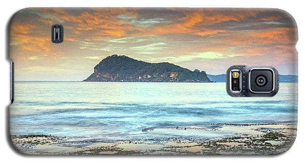 Sunrise Seascape With Clouds Galaxy S5 Case