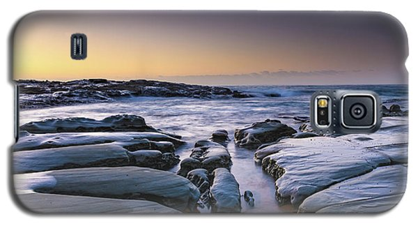 Sunrise Seascape And Rock Platform Galaxy S5 Case
