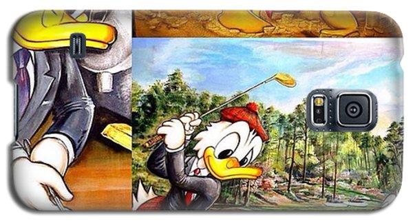 Workout Galaxy S5 Case - Original Oil-/acrylpaintings On Canvas by Gerhard Slama
