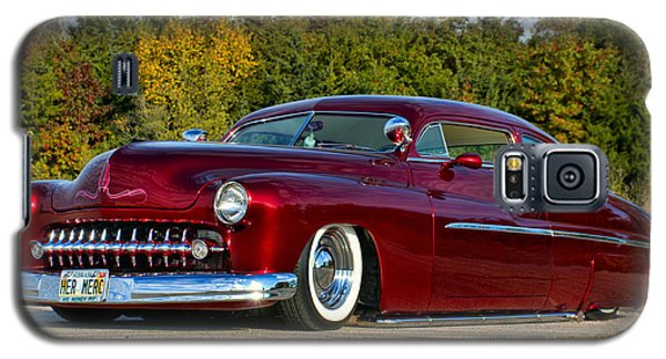 Galaxy S5 Case featuring the photograph 1951 Mercury Low Rider by Tim McCullough