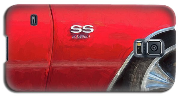 Galaxy S5 Case featuring the photograph 1970 Chevy Chevelle 454 Ss  by Rich Franco