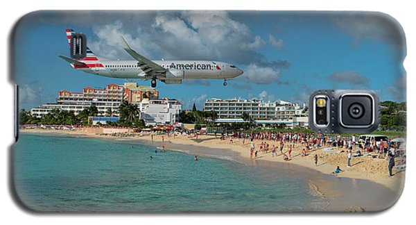 American Airlines At St. Maarten Galaxy S5 Case