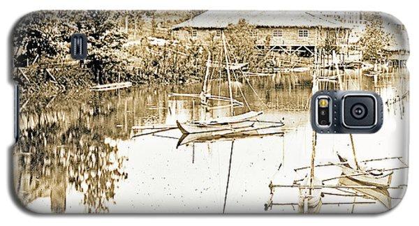 Arrow Head Lake, Philippine Village, 1904 Worlds Fair, Vintage P Galaxy S5 Case