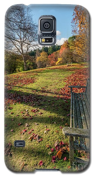Galaxy S5 Case featuring the photograph Autumn Leaves by Adrian Evans