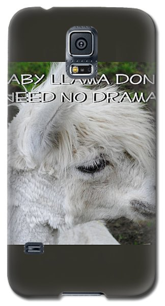 Baby Llama Galaxy S5 Case by Ellen Henneke