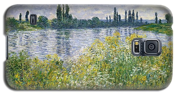 Banks Of The Seine, Vetheuil Galaxy S5 Case