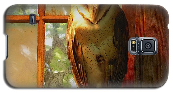 Galaxy S5 Case featuring the photograph Barn Owl by Janice Spivey