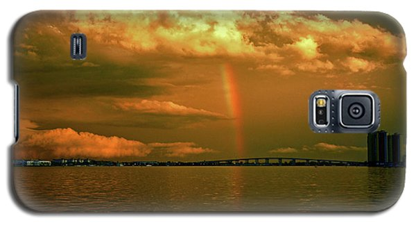 Galaxy S5 Case featuring the photograph 3- Blue Heron Bridge by Rainbows