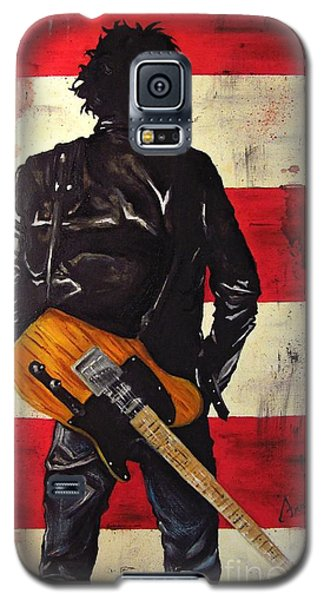 Bruce Springsteen Galaxy S5 Case by Francesca Agostini