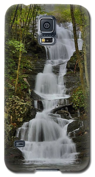 Galaxy S5 Case featuring the photograph Buttermilk Falls by Stephen  Vecchiotti