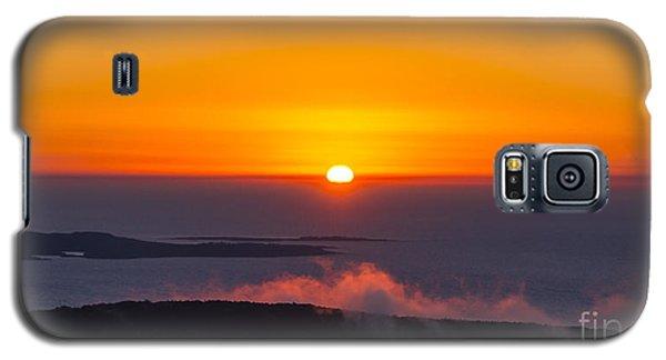 Cadillac Mountain Sunset.  Galaxy S5 Case