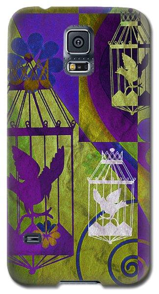 3 Caged Birds Galaxy S5 Case