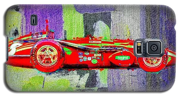 #car #sportscar #racecar #nascar Galaxy S5 Case by David Haskett