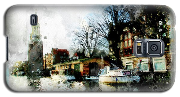 City Life In Watercolor Style   Galaxy S5 Case