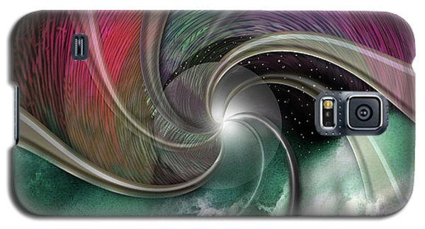 Cosmic Surfer Galaxy S5 Case