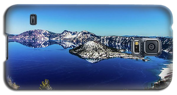 Galaxy S5 Case featuring the photograph Crater Lake by Jonny D