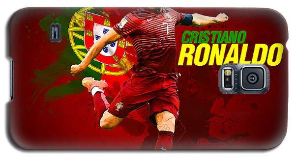 Cristiano Ronaldo Galaxy S5 Case by Semih Yurdabak