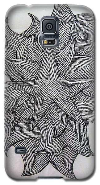 3 D Sketch Galaxy S5 Case by Barbara Yearty