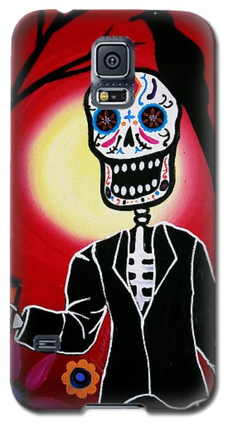 Dia De Los Muertos Galaxy S5 Case by Pristine Cartera Turkus