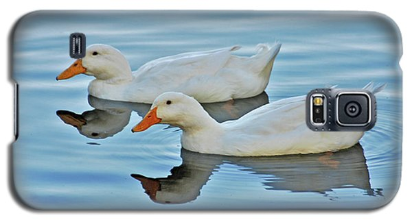 Galaxy S5 Case featuring the photograph 3- Ducks by Joseph Keane