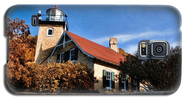 Eagle Bluff Lighthouse Galaxy S5 Case by Joel Witmeyer
