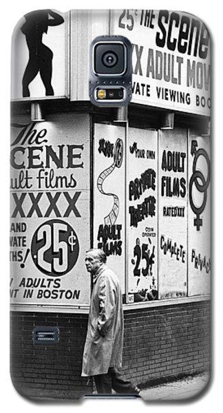 Film Homage Hard Core 1979 Porn Theater The Combat Zone Boston Massachusetts 1977 Galaxy S5 Case