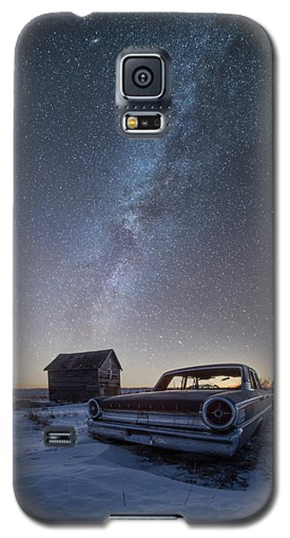 Galaxy S5 Case featuring the photograph 3 Galaxies  by Aaron J Groen