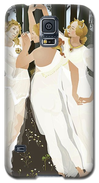 3 Graces Galaxy S5 Case by Terry Cork