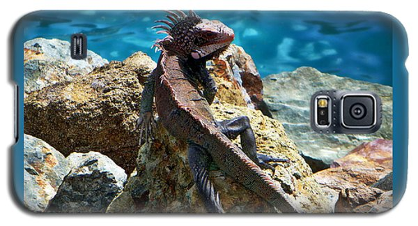 Green Iguana Galaxy S5 Case
