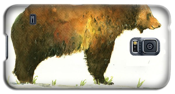 Grizzly Brown Bear Galaxy S5 Case