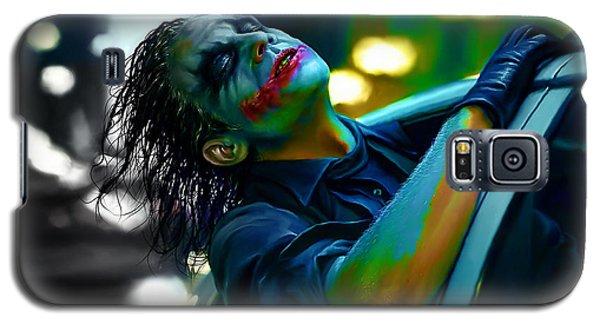 Heath Ledger Galaxy S5 Case - Heath Ledger by Marvin Blaine