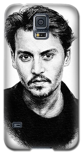 Johnny Depp Galaxy S5 Case by Andrew Read