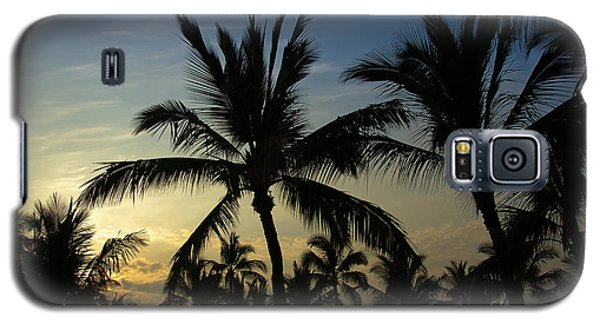 Galaxy S5 Case featuring the photograph Kona Sunset by Kelly Wade