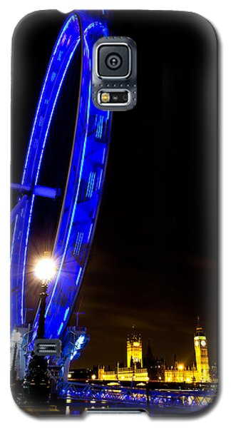 London Eye Night View Galaxy S5 Case