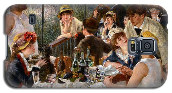 Luncheon Of The Boating Party Galaxy S5 Case by Auguste Renoir