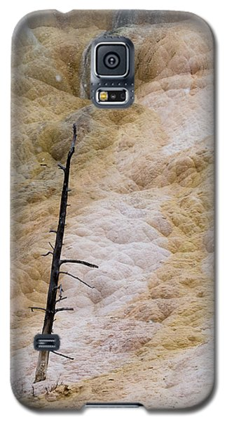 Mammoth Hot Spring Terraces Galaxy S5 Case