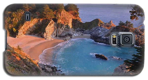 Mcway Falls - Big Sur Galaxy S5 Case by Stephen  Vecchiotti