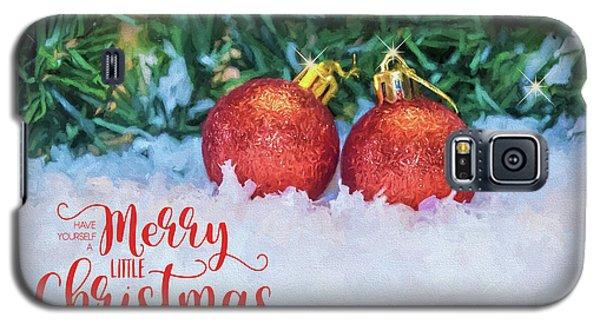 Merry Christmas Galaxy S5 Case