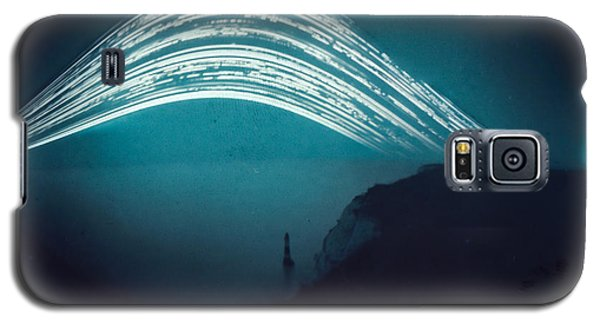 3 Month Exposure At Beachy Head Lighthouse Galaxy S5 Case