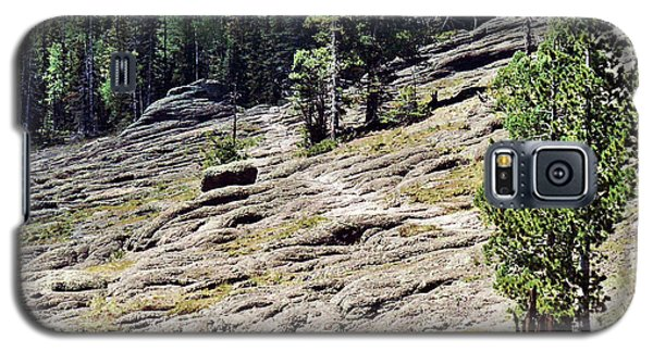 Galaxy S5 Case featuring the photograph Mount Baldy Trail by Juls Adams