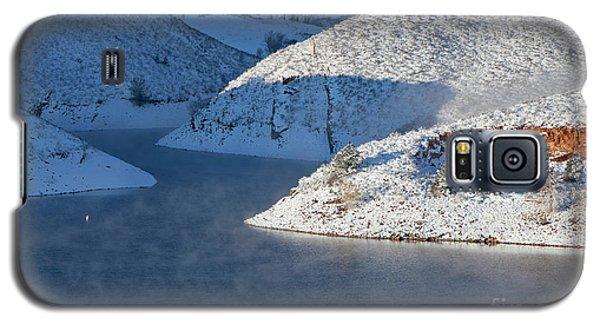 Mountain Lake In Winter Galaxy S5 Case