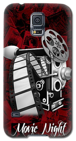 Movie Room Decor Collection Galaxy S5 Case