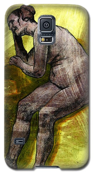 Nude Woman Galaxy S5 Case by Svelby Art