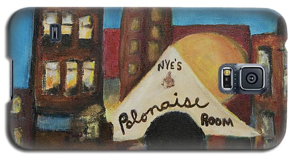 Galaxy S5 Case featuring the painting Nye's Polonaise Room by Susan Stone