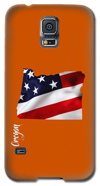 Oregon State Map Collection Galaxy S5 Case by Marvin Blaine