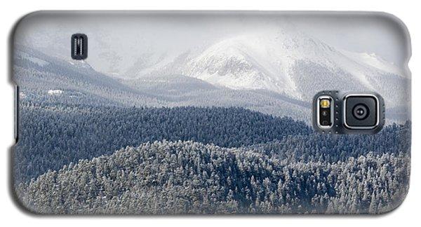 Pikes Peak In Snow Galaxy S5 Case