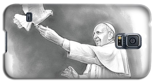 Dove Galaxy S5 Case - Pope Francis by Greg Joens