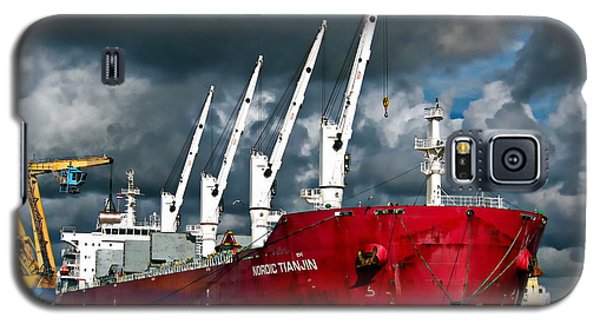 Port Of Amsterdam Galaxy S5 Case