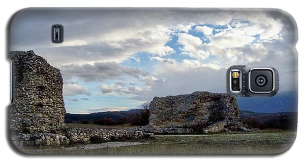 Galaxy S5 Case featuring the photograph Roman Ruins by Judy Kirouac