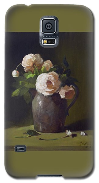 3 Roses In Silver Pitcher Galaxy S5 Case